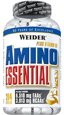 Weider Amino Essential EAA - 204 Kapseln