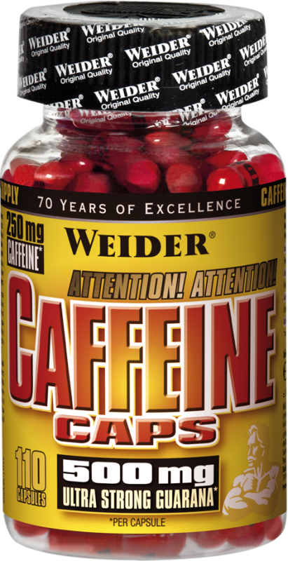 Weider Caffeine Caps - 110 Kapseln