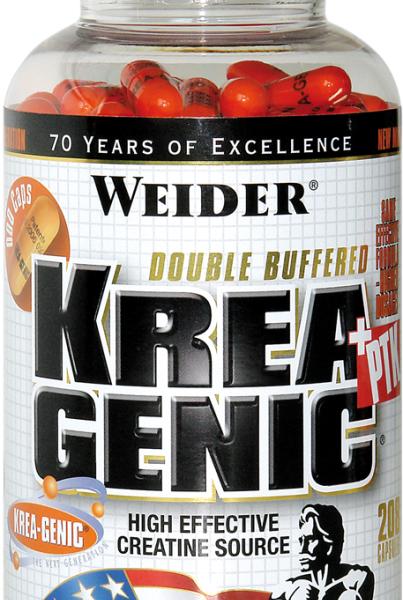 Weider Krea Genic + PTK Caps - 208 Kapseln