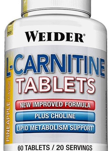Weider L-Carnitine - 60 Tabletten á 300mg