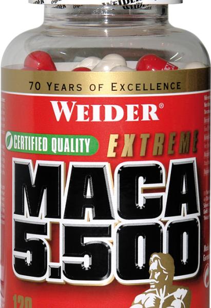 Weider Maca Extreme 5500 - 120 Kapseln