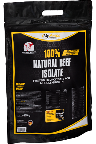 My Supps 100% Natural Beef Isolate - 2000g