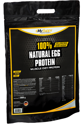 My Supps 100% Natural Egg Protein - 2000g