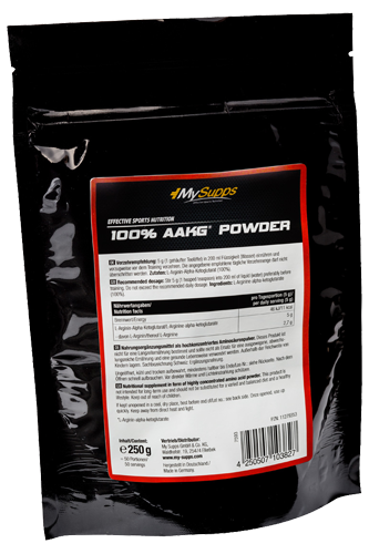 My Supps 100% AAKG - 250g
