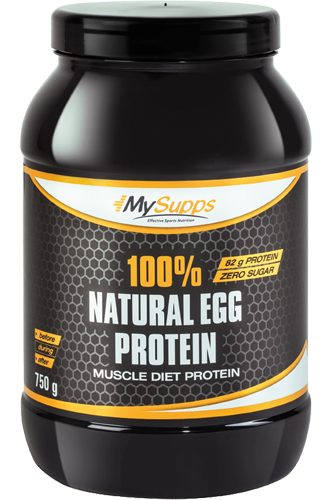 My Supps 100% Egg Protein - 750g