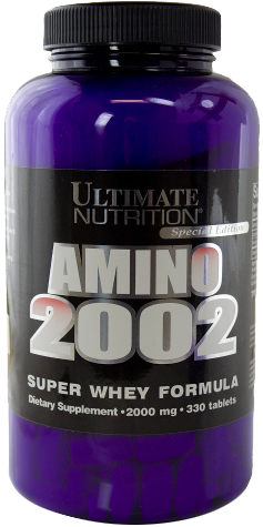 Ultimate Nutrition Amino 2002 - 330 Tabl. á 2000mg