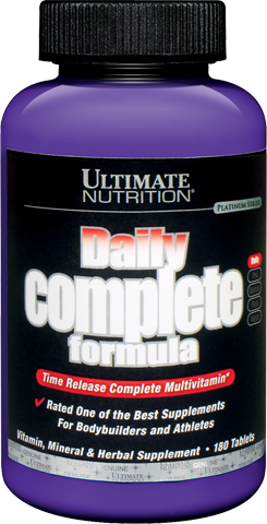Ultimate Nutrition Daily Complete - 180 Tabletten