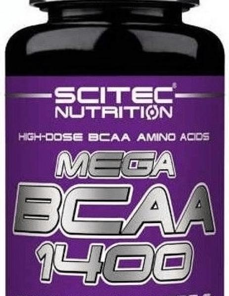 Scitec Nutrition Mega BCAA 1400 - 90 Kapseln