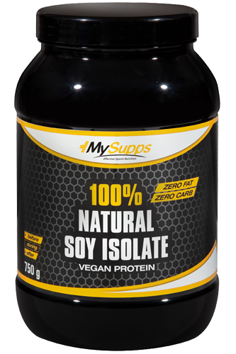 My Supps 100% Natural Soy-Isolate - 750g