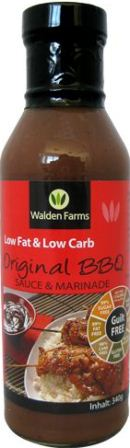 Walden Farms BBQ Sauce Original - 340g