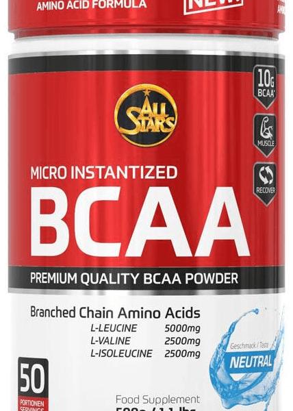 All Stars BCAA Powder - 500g Dose