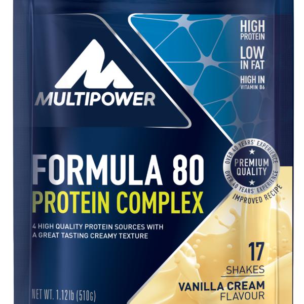 Multipower Formula 80 Protein Complex - 510g Beutel