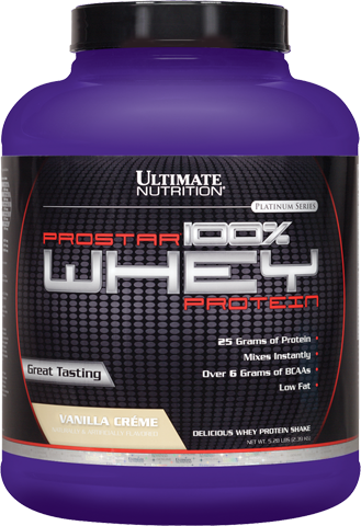 Ultimate Nutrition NEW Prostar 100% Whey Protein - 2390g