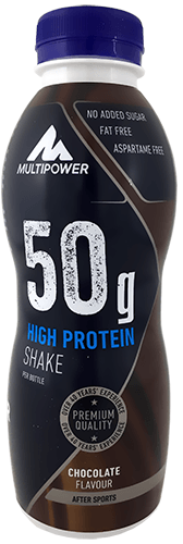 Multipower 50g Protein Shake - 12x500ml