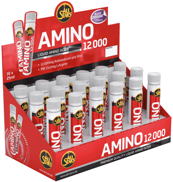All Stars Amino 12000 - 18 Ampullen