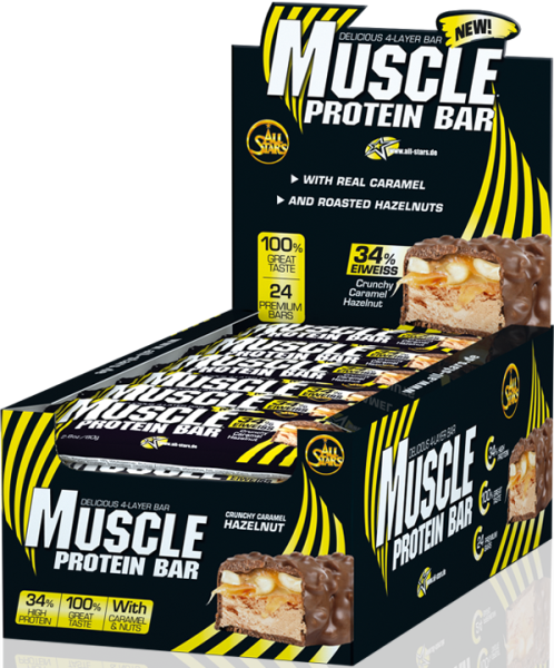 All Stars Muscle Protein Bar - 24 x 80g