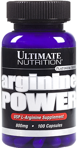 Ultimate Nutrition Arginine Power - 100 Kapseln