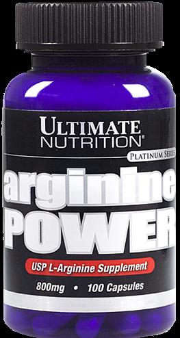 Ultimate Nutrition Arginine Power - 100 Kapseln