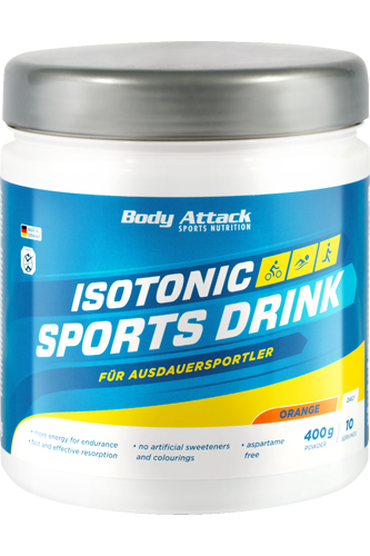 Body Attack Isotonic Sports Drink - 400g Dose