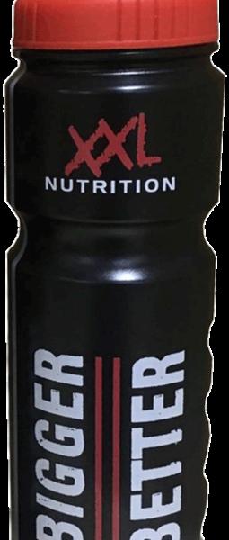 XXL Nutrition Trinkflasche Schwarz - 750 ml