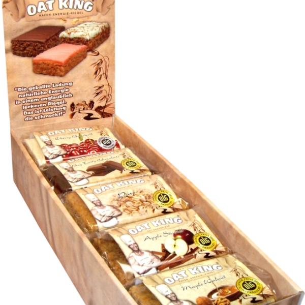 OAT KING Vegane Box - 10 Riegel