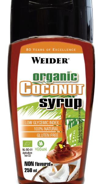 Weider Organic Coconut Syrup - 250ml