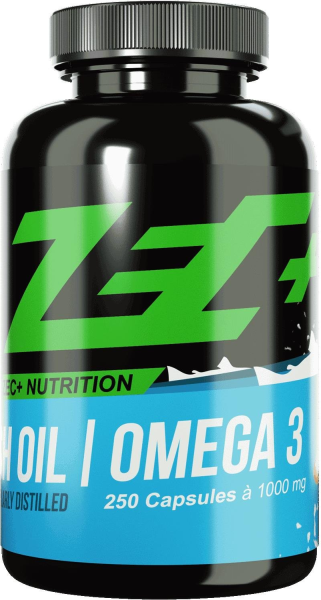 ZEC+ Fish Oil Omega 3 Kapseln - 250 Kapseln