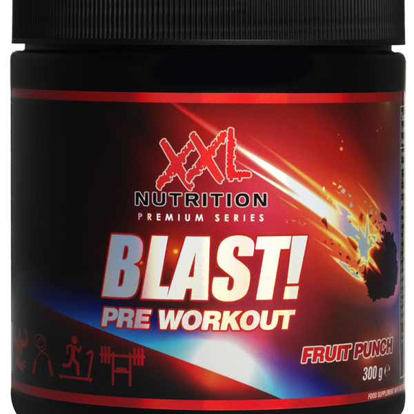 XXL Nutrition Blast! Pre Workout