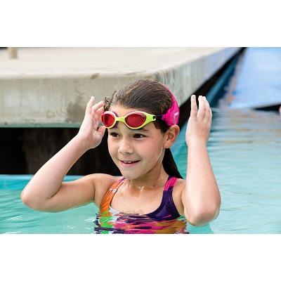 Grün/Pink - Schwimmen - Finis