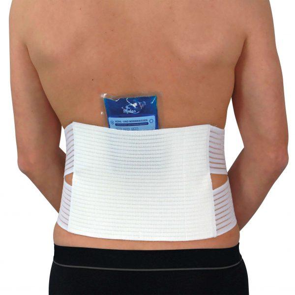 Hydas Rückenstützgürtel zur Kalt-/Heiß Therapie