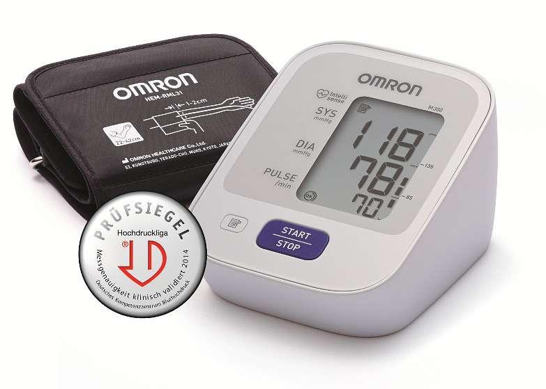 """Omron Oberarmblutdruckmessgerät """"M300"""" - Fitnessgeräte - Omron"""