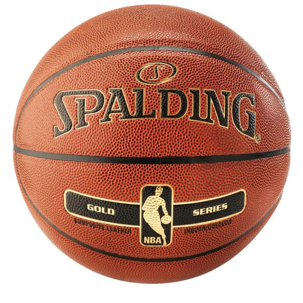"Spalding Basketball ""NBA Gold"""