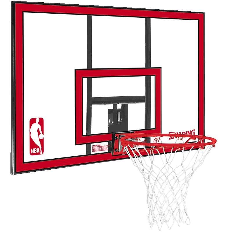 "Spalding Basketball-Wandanlage ""NBA Polycarbonat Backboard"" - Teamsport - Spalding"