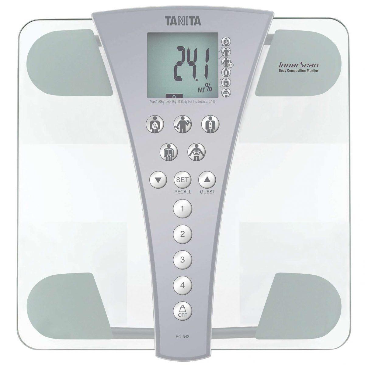 Tanita Körperanalysewaage BC-543 - Fitnessgeräte - Tanita