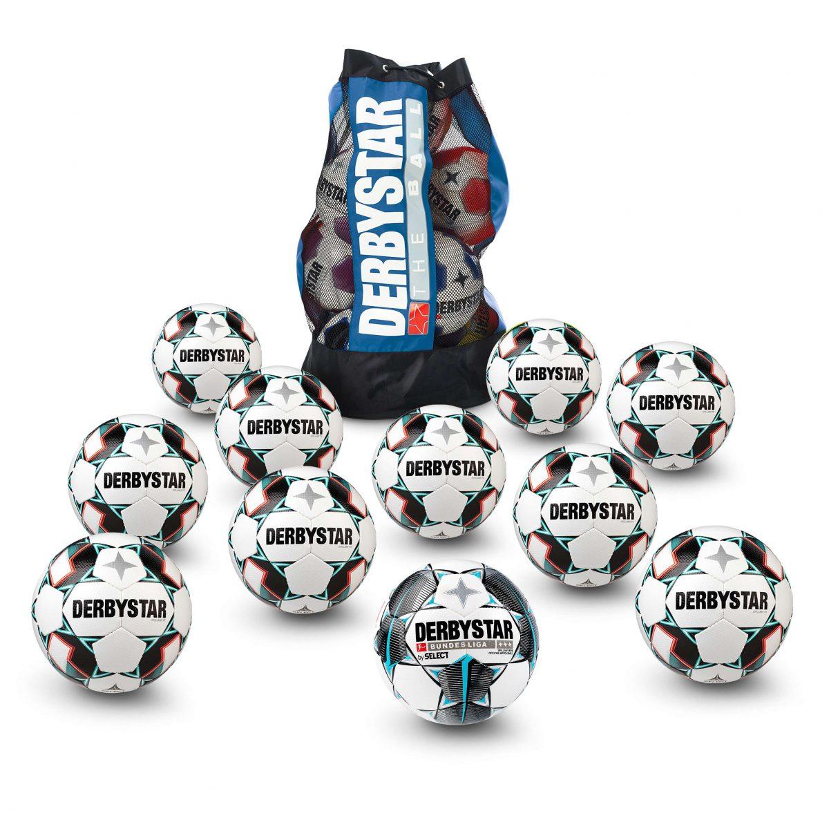 """Derbystar Fußball-Set """"Liga"""" - Bälle - Derbystar"""