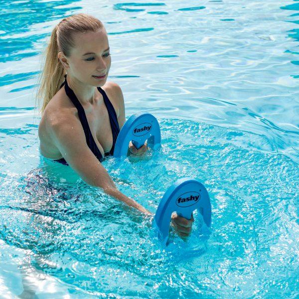 """Fashy Aqua-Jogging-Hanteln """"Oval"""" - Schwimmen - Fashy"""