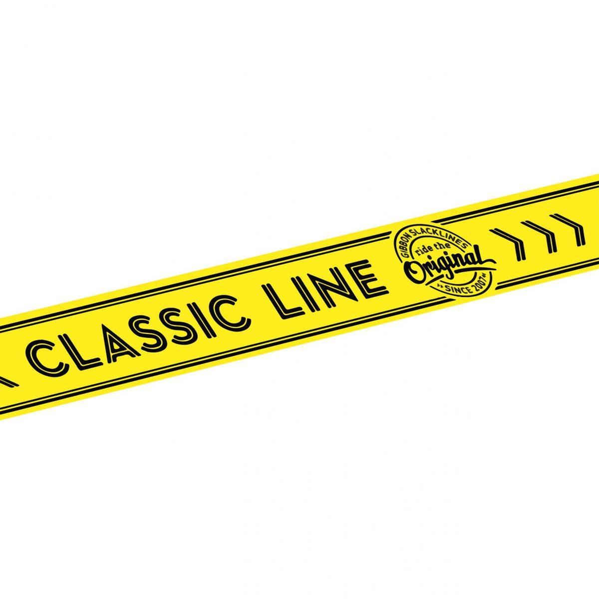 """Gibbon Slackline Ersatz-Line """"Classic"""" - Freizeitspiele - Gibbon"""