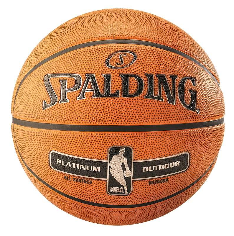 "Spalding Basketball ""NBA Platinum Outdoor"" - Bälle - Spalding"