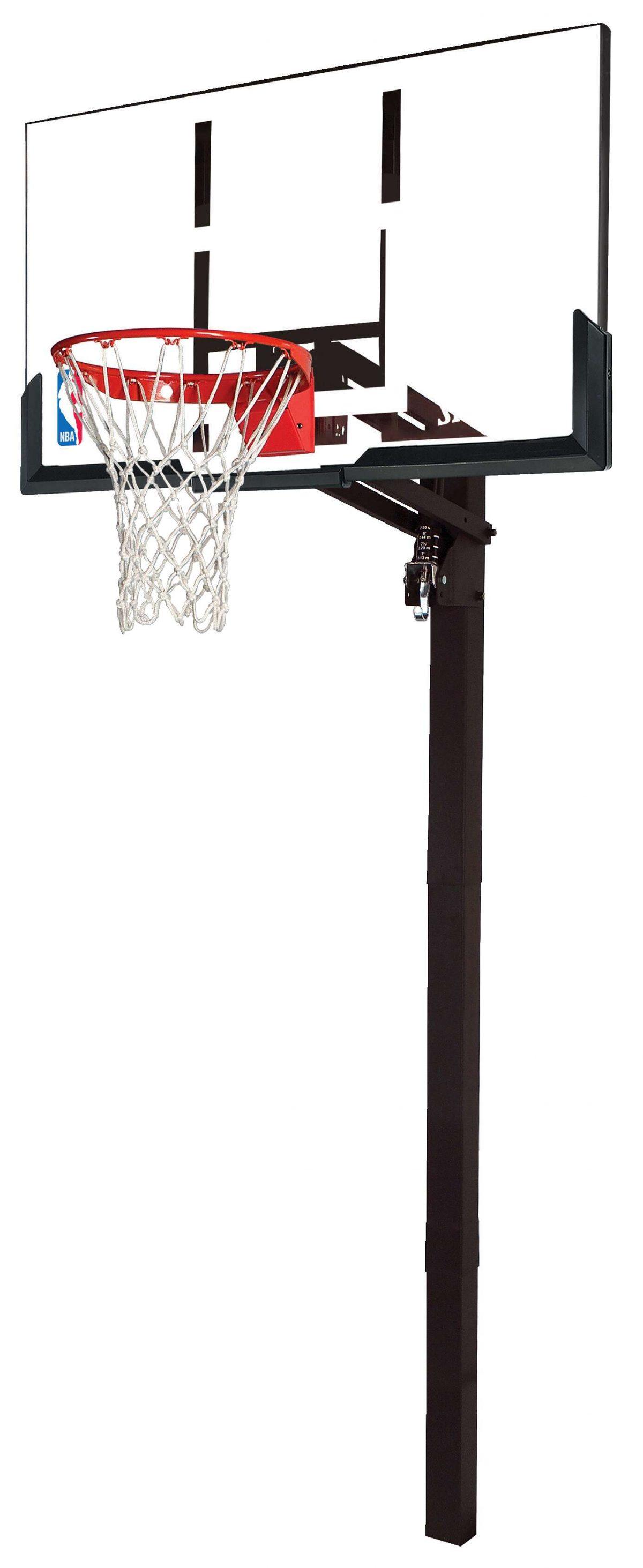 "Spalding Basketballanlage ""NBA Gold Exacta High Lift In-Ground"" - Teamsport - Spalding"