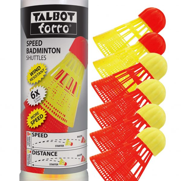 "Talbot Torro Speed-Badminton Ball-Set ""Aerospeed"" - Teamsport - Talbot torro"