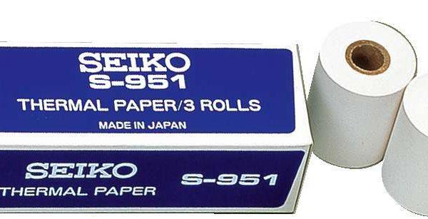 Thermalpapier (groß) - Leichtathletik - Seiko