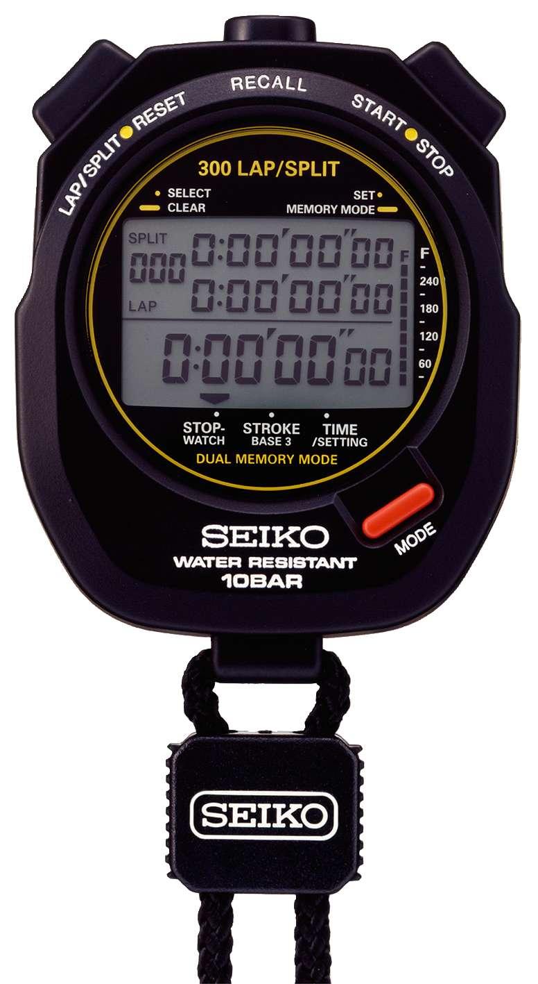 """Seiko Stoppuhr """"S141"""" - Leichtathletik - Seiko"""