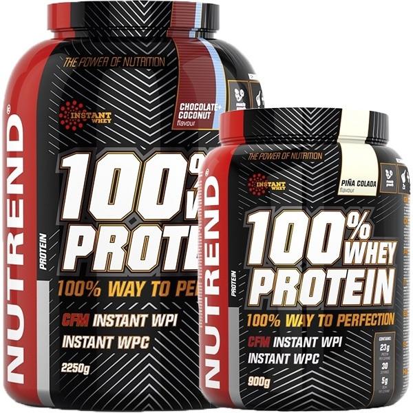 Nutrend 100% Whey Protein - 900g bis 2250g Pulver