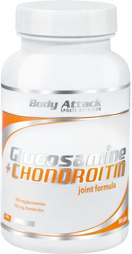 Body Attack Glucosamin + Chondroitin - 90 Kapseln