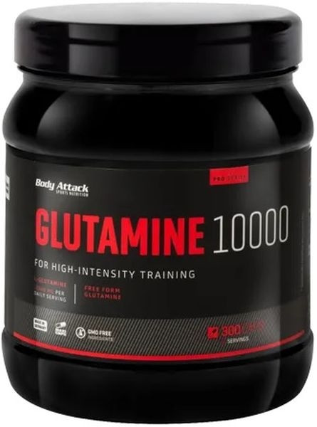 Body Attack Glutamine 10000 - 300 Maxi Caps