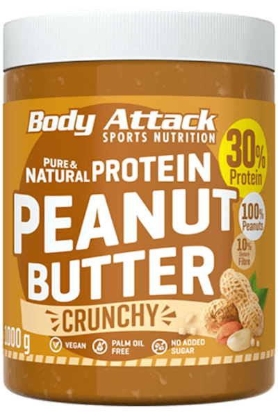 Body Attack Peanut Butter - 1000g