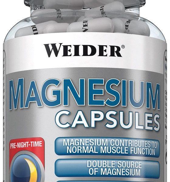 Weider Magnesium Caps - 120 Kapseln