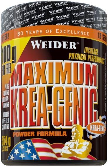Weider Maximum Krea-Genic Powder - 554 g