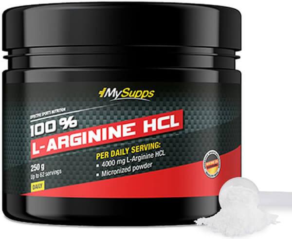 My Supps 100% L-Arginine HCL  - 250g