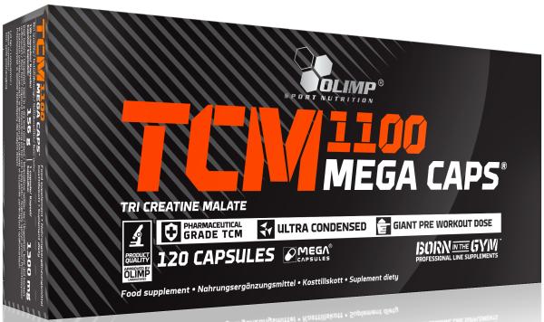 Olimp TCM Creatin Mega Caps 1100 - 120 Kapseln
